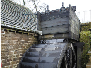 The water wheel at Shepherd Wheel 1